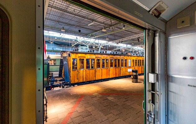 Entreeticket Spoorwegmuseum in Utrecht