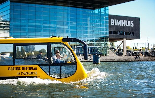 Maak een spectaculaire stadstour met Splashtours Amsterdam!