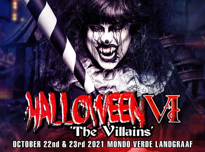 Korting EntreeticketHalloween The Villains VI op 22 of 23 oktober 2021