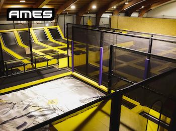 2 uur trampoline springen bij Ames Jump