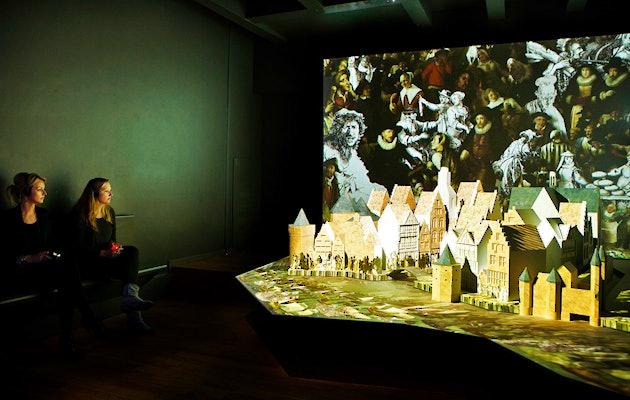 Leer over de geschiedenis van Amsterdam in Museum Het Grachtenhuis