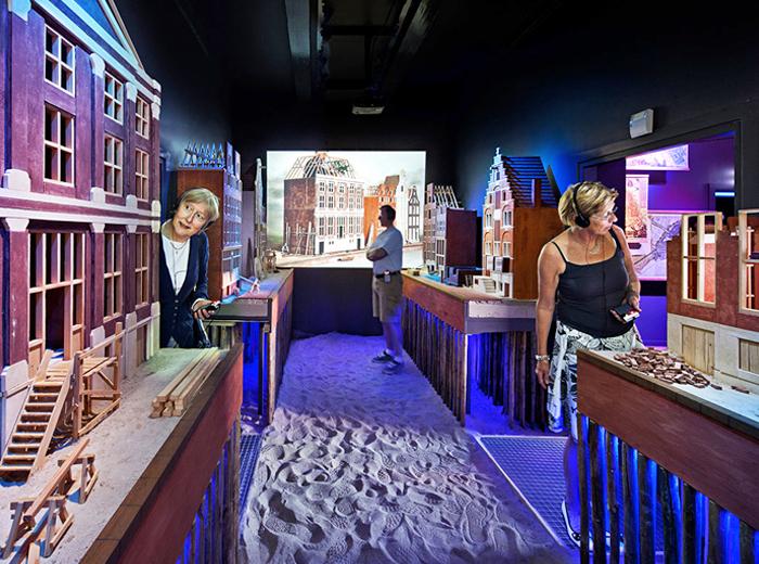 Korting Ontdek alles over Amsterdam bij Museum Het Grachtenhuis!