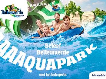 Vivez une aventure fantastique au parc aquatique Bellewaerde!