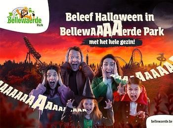Vier deze Halloween met de hele familiel in Bellewaerde Park