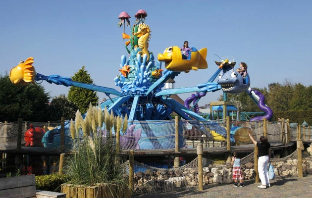 Attracties voor jong en oud in het sfeervolle familiepark Drievliet