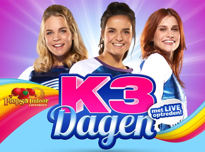 Zingen en swingen met K3 in Plopsa Indoor Coevorden...