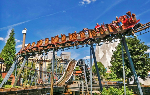 Entreeticket Kernie's Familiepark, inclusief All-you-can-eat