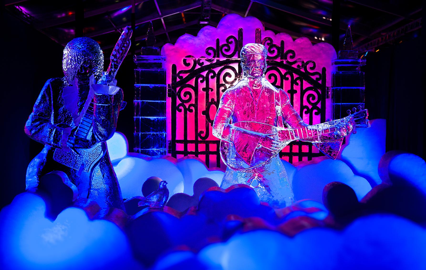 Bewonder mooie ijssculpturen bij het IJsbeelden Festival in Zwolle
