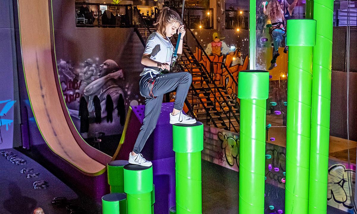 Korting Entreeticket Climb In bij Play in Utrecht