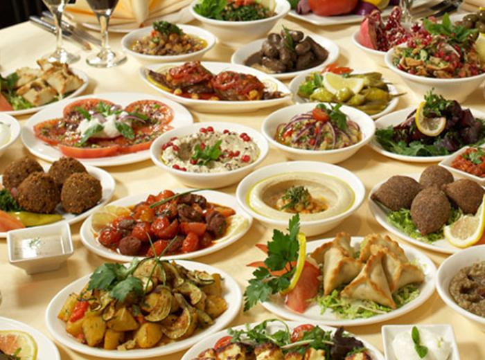 Libanees proeverijdiner bij Amier Restaurant in Den Haag