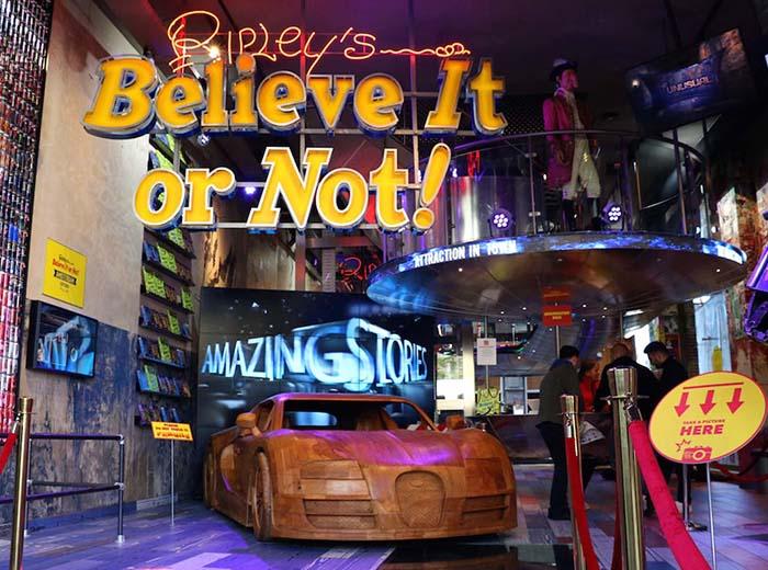 Korting Entreeticket Ripley's Believe It or Not in Amsterdam