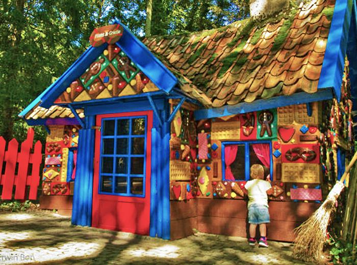 Fantasie en werkelijkheid komen samen in het Sprookjesbos Valkenburg