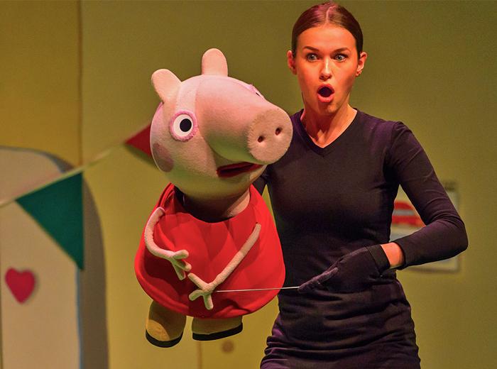 Entreeticket theatervoorstelling Peppa Pig Verrassingsfeest...