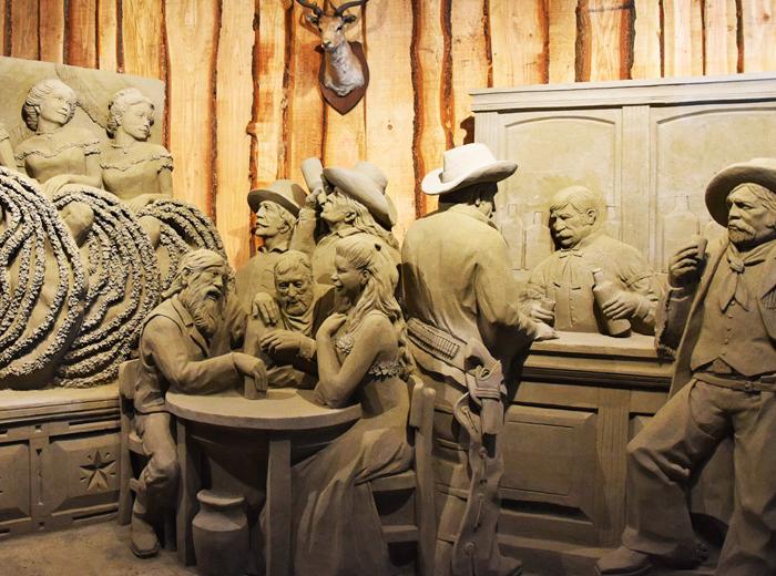 Korting Bewonder de kunstuitingen bij 't Veluws Zandsculpturenfestijn Houten