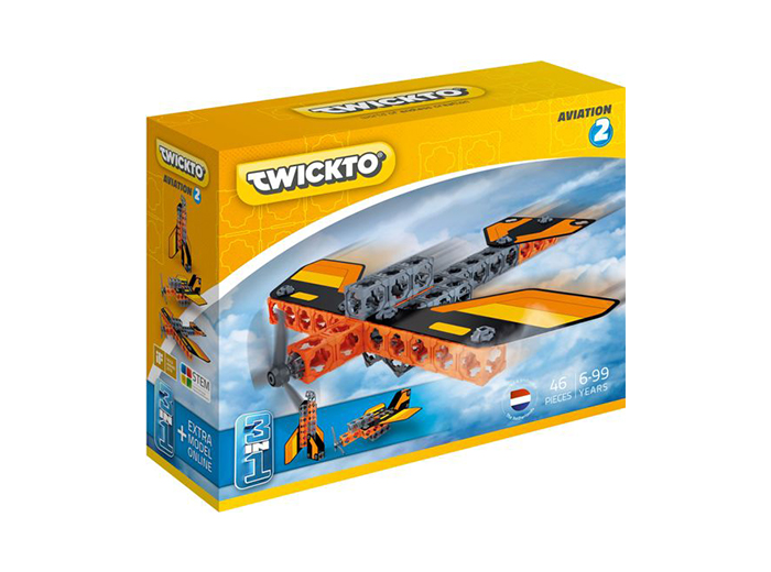 Korting Twickto Aviation 2 bouwpakket 46 delig