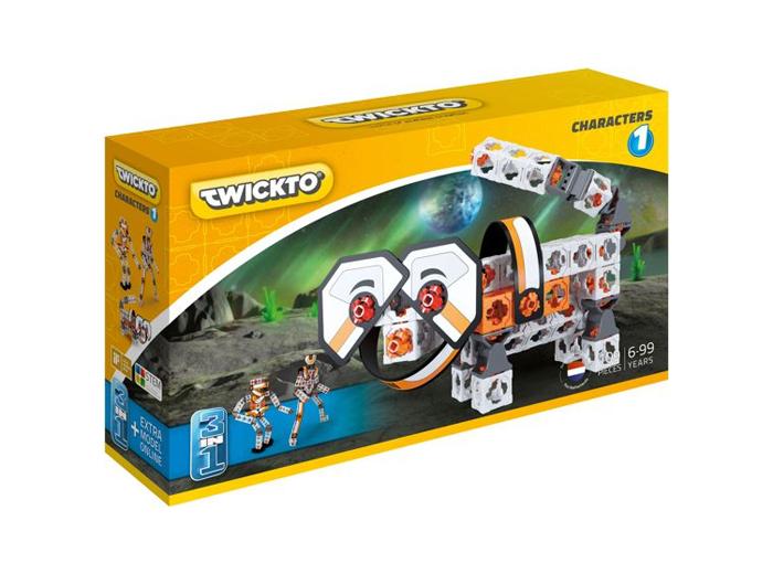 Korting Bouw karakters met het Twickto Characters 1 bouwpakket