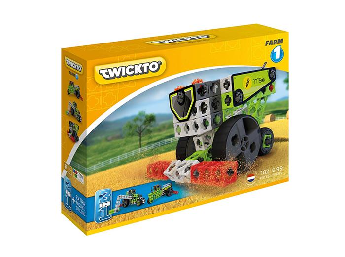 Korting Bouw landbouwvoertuigen met het Twickto Farm 1 bouwpakket