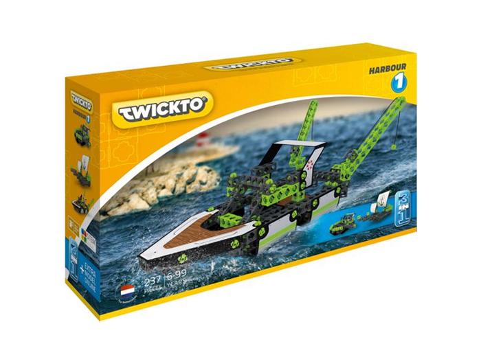 Korting Bouw flitsende watervoertuigen met het Twickto Harbour 1 bouwpakket