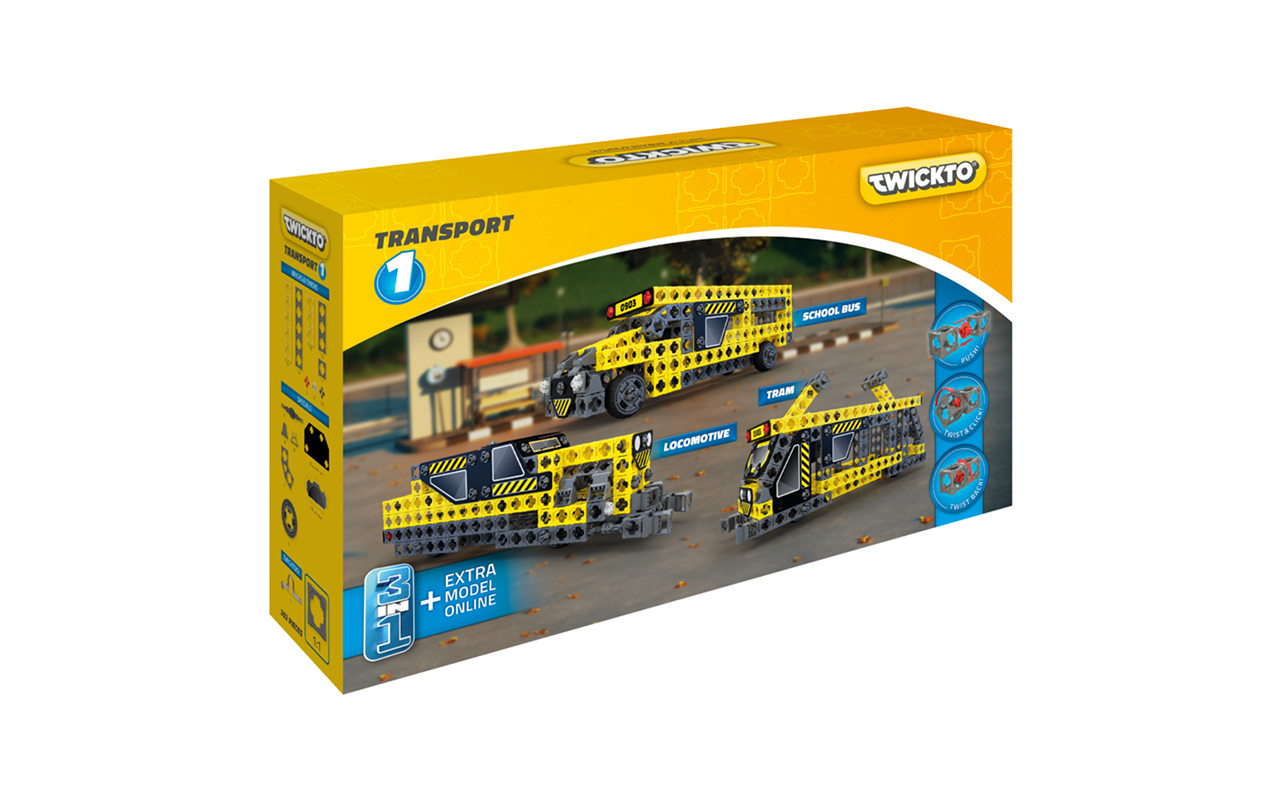 Korting Twickto Transport 1 bouwpakket 1 252 delig