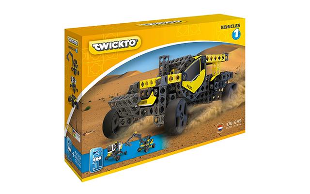 Korting Twickto Vehicles 1 bouwpakket 338 delig