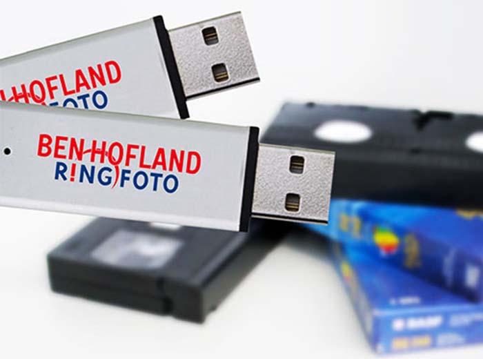 Korting Videoband omzetten naar USB bij Ben Hofland