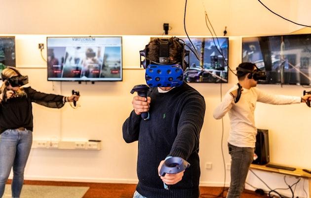 VR-experience bij het Virtuorium in Leiden