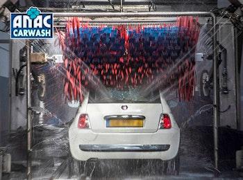 Wasbeurt bij ANAC Carwash Arnhem of Den Bosch