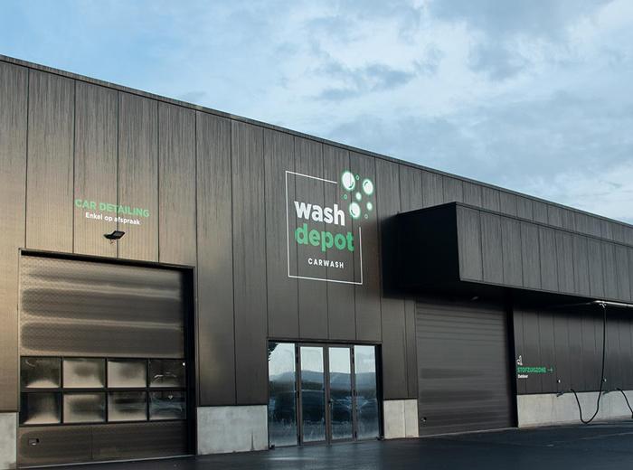 Wasbeurt bij Wash Depot in Zottegem