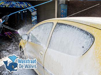 Korting Wasbeurt bij Wasstraat de Walvis