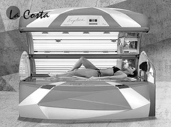 Zonnebanksessie bij La Costa